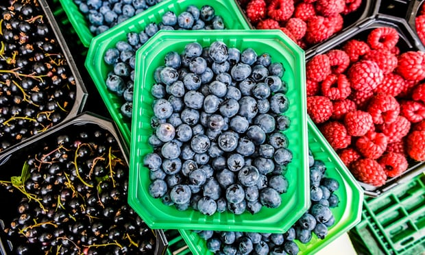 Fresh berries for keto, low carb weight loss.