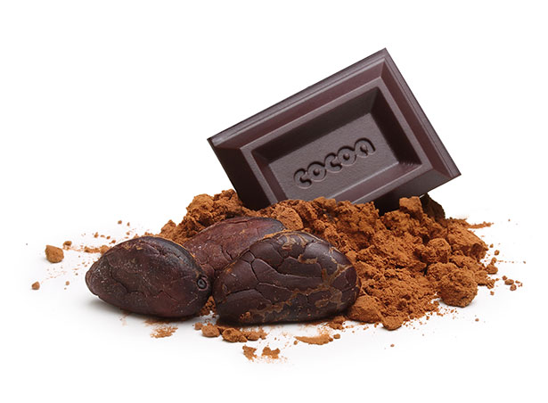 Chocolate that is at least 70% cacoa offers health benefits and contains very little sugar.